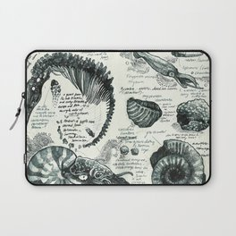 Sketchbook - Fossils Laptop Sleeve