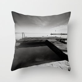 Balaton - Pier Throw Pillow