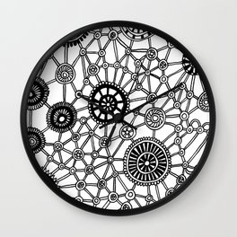 Gears n Wheels Wall Clock