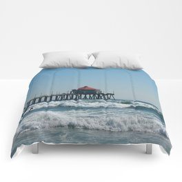 Huntington Beach Life Comforters