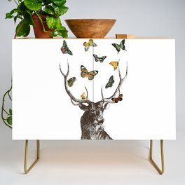 The Stag and Butterflies Credenza