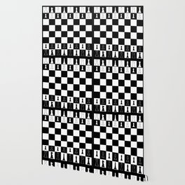 Chess Board Layout Wallpaper
