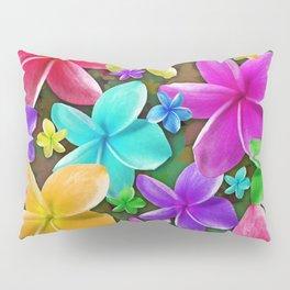 Plumerias Flowers Dream Pillow Sham