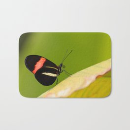 Butterfly - Climbing the hill Bath Mat