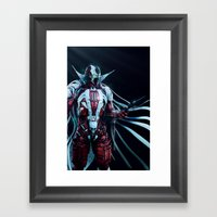 Spawn Vertical1 Framed Art Print