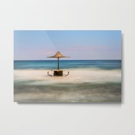 Seaside Bar Metal Print