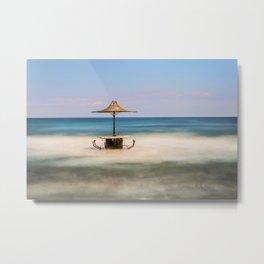 Seaside Bar Metal Print