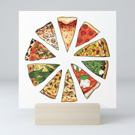 Feast of St. Pizza: Philadelphia Edition Mini Art Print