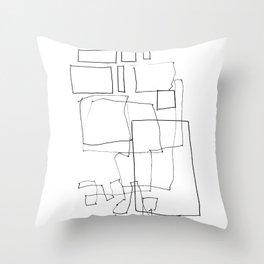 Line01 Throw Pillow