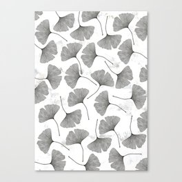 ginkgo biloba pattern Canvas Print
