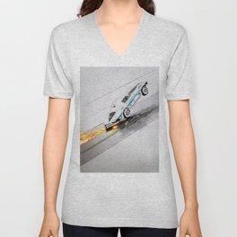 Speed King Unisex V-Neck