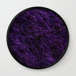 Deep Purple Wall Clock