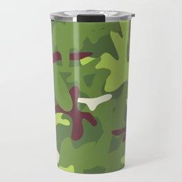 Camouflage military background. Travel Mug