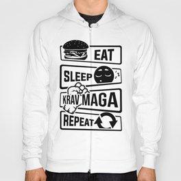 Eat Sleep Krav Maga Repeat - Self Defense Hoody