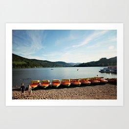 Bavarian Lake Art Print
