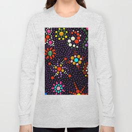 Planet Mandala Long Sleeve T-shirt