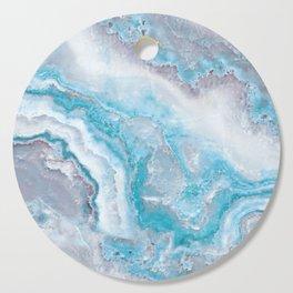 Ocean Foam Mermaid Marble Cutting Board