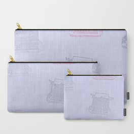 Typewriter blues Carry-All Pouch