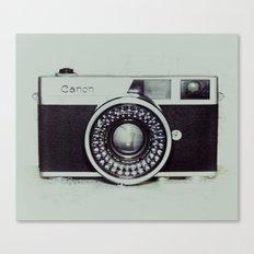 Film Camera Love: Canon Canvas Print