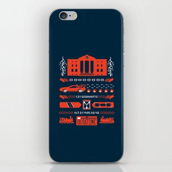 1.21 Stitches iPhone & iPod Skin