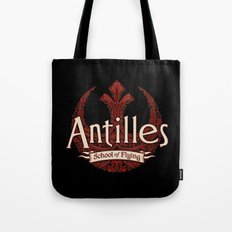Antilles School of Flying Tote Bag