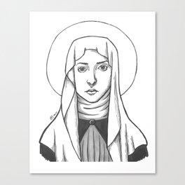 St. Catherine of Siena Canvas Print