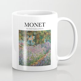 Monet - The Artist's Garden at Giverny Coffee Mug