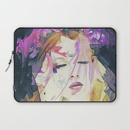 Path - Abstract Portrait Laptop Sleeve