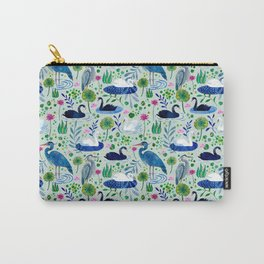 Feathered Pond Carry-All Pouch
