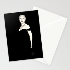 Black and Scarlett  Stationery Cards
