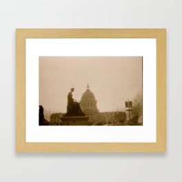 The Civic Framed Art Print