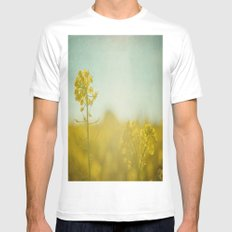Spring Sun Mens Fitted Tee White MEDIUM
