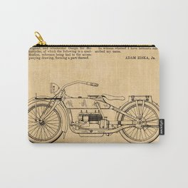 US Patent - Design for an early HD Motorcycle Carry-All Pouch