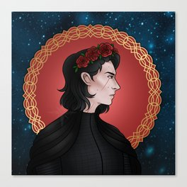 Royalty - Kylo Ren Canvas Print