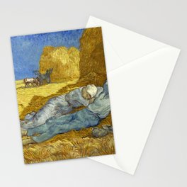 Vincent Van Gogh - The Siesta Stationery Cards