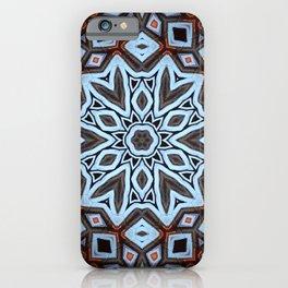 Arabesque // Geometric Design Kaleidoscope Morocco Egypt Blue Mandala Gypsy Bohemian Sacred Geometry iPhone Case