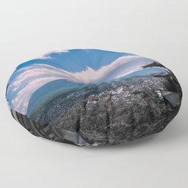 Fuji View Floor Pillow