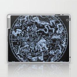 Ice on Black   Zodiac Skies & Astrological Ties Laptop & iPad Skin