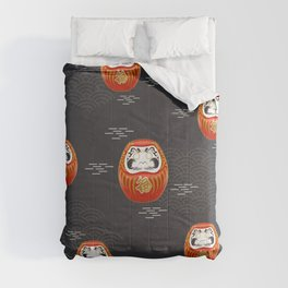 Traditional Daruma Doll Comforters