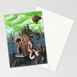 The trafficker-il trafficante Stationery Cards
