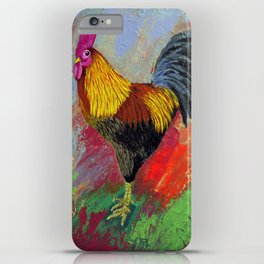 Rooster-3/  iPhone Case