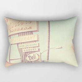 Los Angeles. Canters Deli photograph Rectangular Pillow