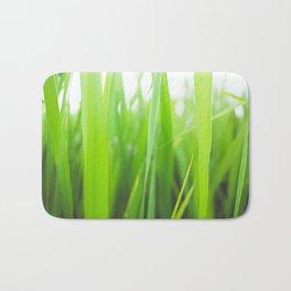 Summer is green Bath Mat