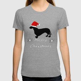 "Dachshund ""Merry christmas"" T-shirt"
