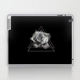 Rose Black and White Laptop & iPad Skin