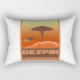 Bespin poster design may the force be with you Rectangular Pillow