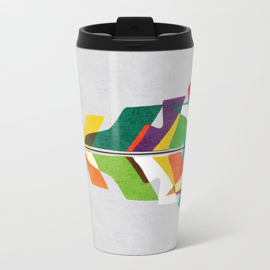 Before the last leaf falls Metal Travel Mug