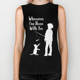 Alone With You Biker Tank