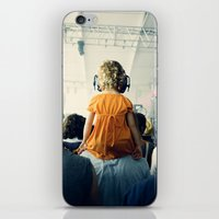 bon iver iPhone & iPod Skins featuring LuLu at Bon Iver by Pope Saint Victor