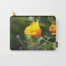 Sunlit Eschscholzia californica Carry-All Pouch